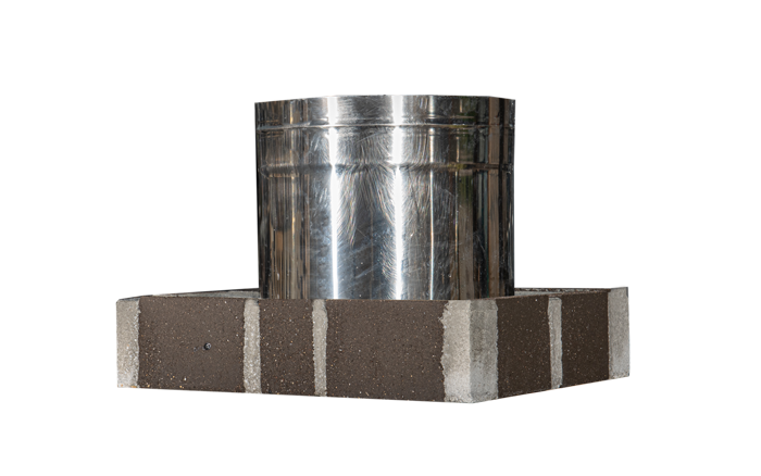 Ειδικό τεμάχιο ψησταριάς με ανοξείδωτο σωλήνα