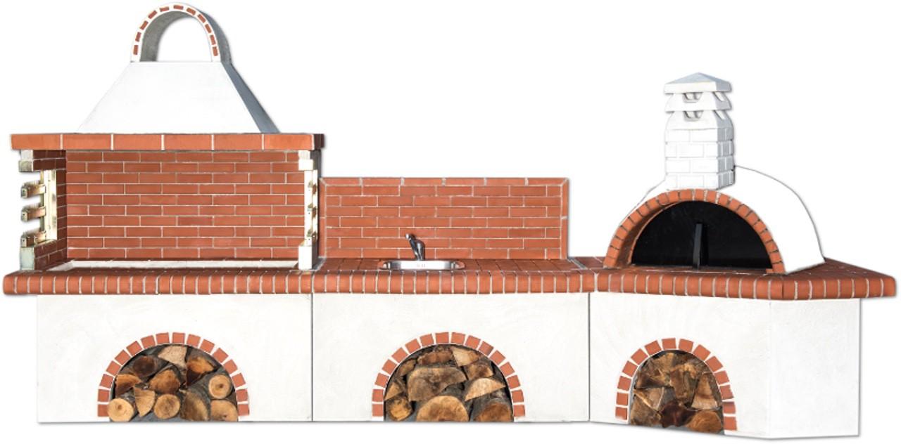 modern barbecue set